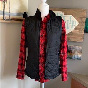 Eddies Bauer black vest size small
